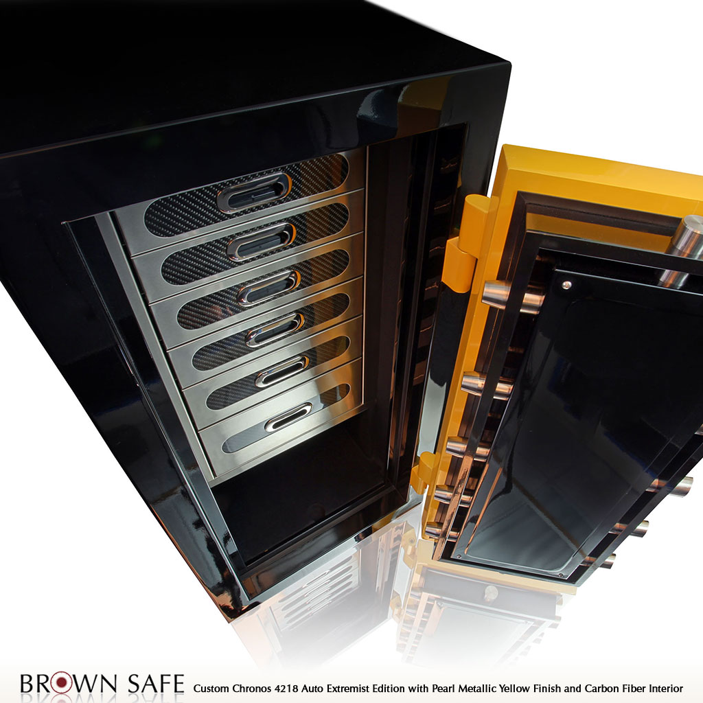 Custom Safe Chronos Luxury Watch Safes From