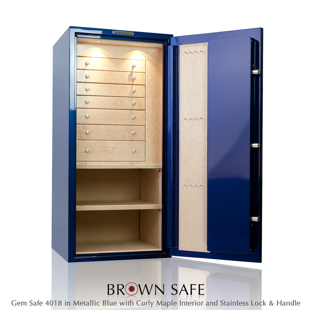 Custom Safe - Buy a Gem Series jewelry safe from BrownSafe com
