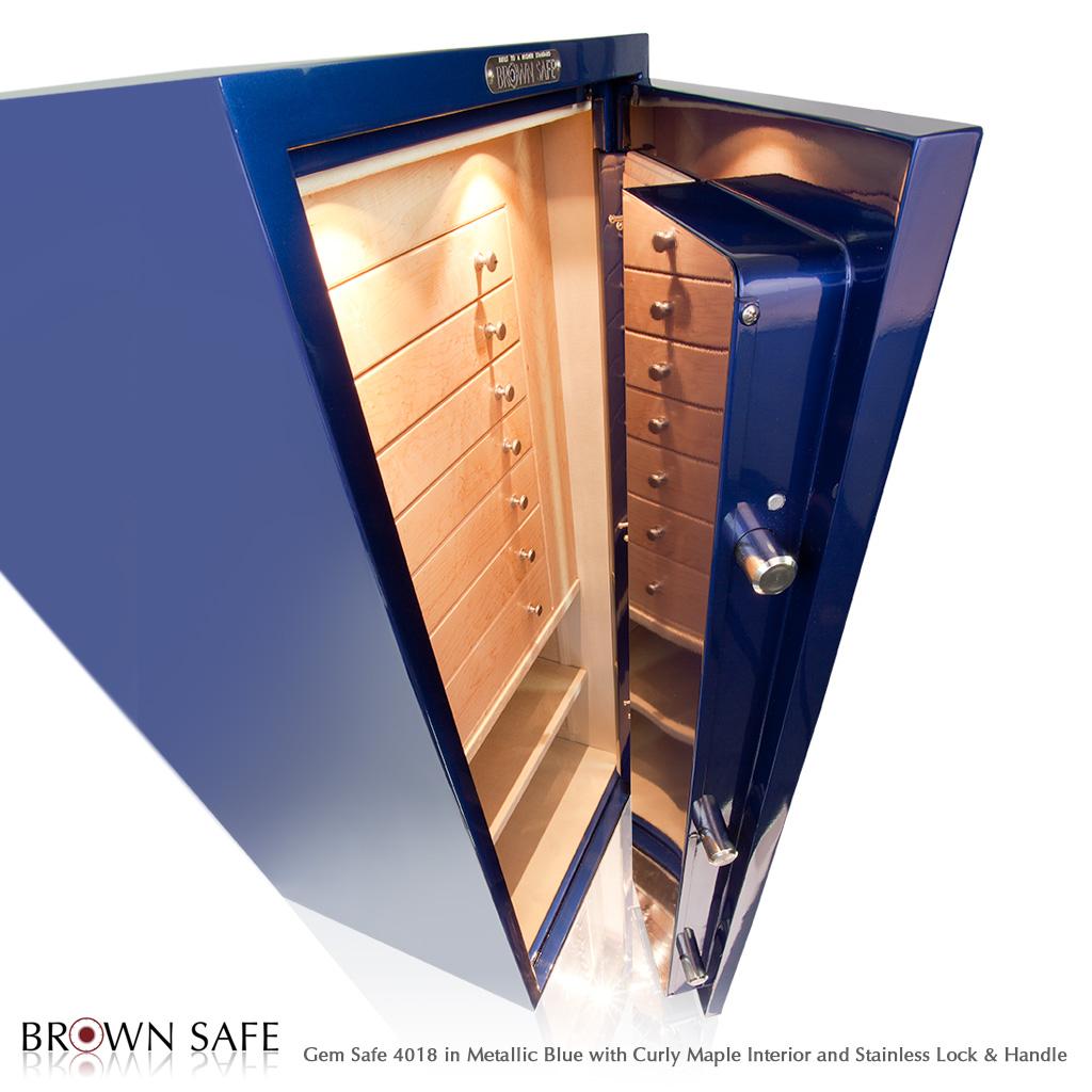 Custom Safe - Buy a Gem Series jewelry safe from BrownSafe com