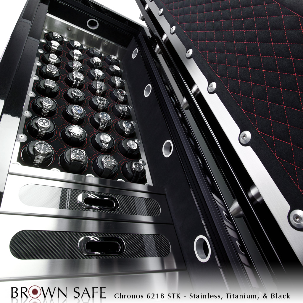 Custom Safe Chronos Luxury Watch Safes From Brownsafe Com