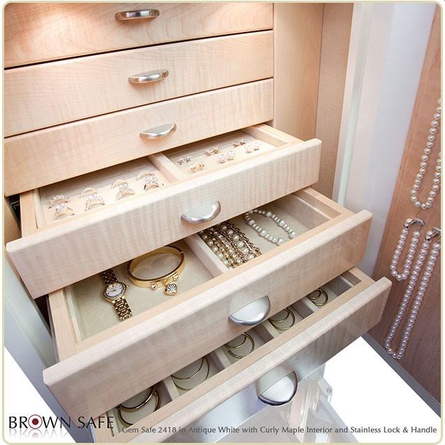 Merveilleux ... Jewelry Safes Gem2418 Jewelry Storage
