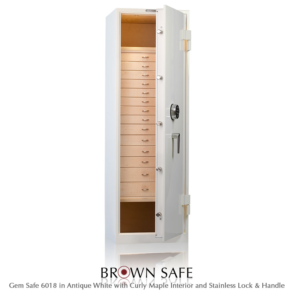 Jewelry Safe - Buy a Gem Series Luxury Jewelry Vault from BrownSafe com
