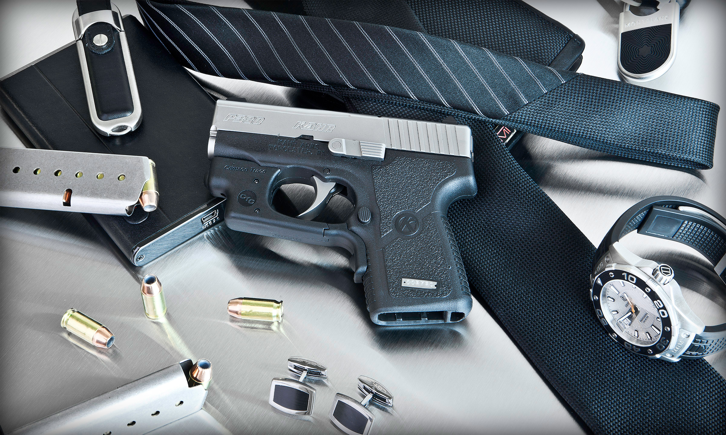 Kahr P380 micro compact pistol