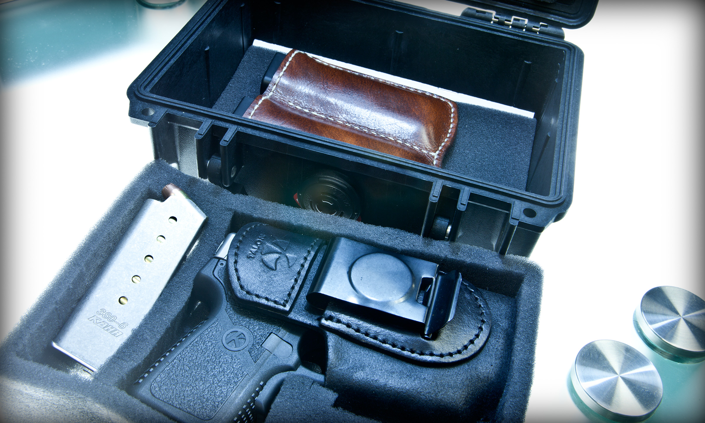 Kahr P380 in pelican case