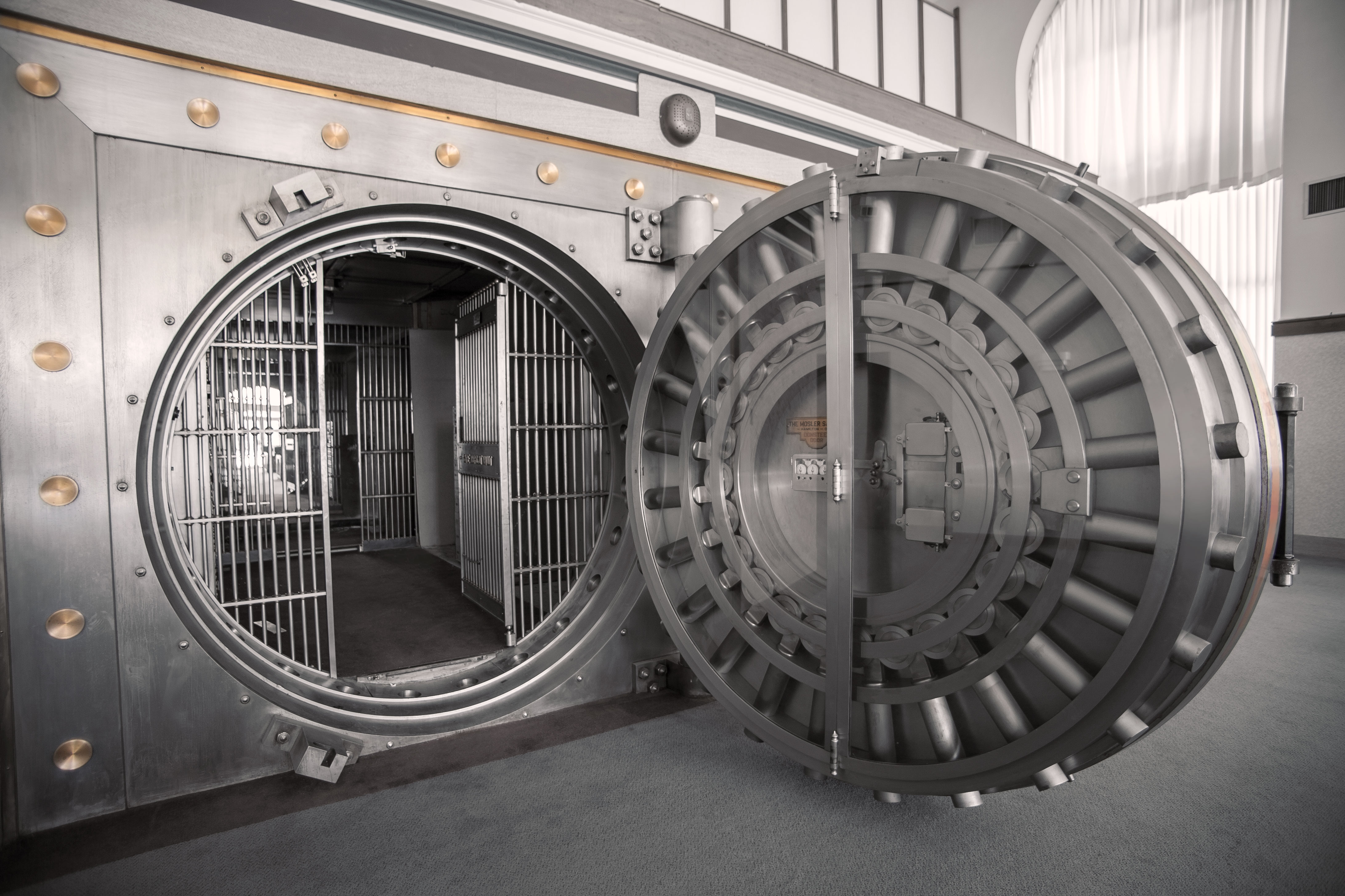 Antique Vault Doors For Sale Exclusively From Brown Safe