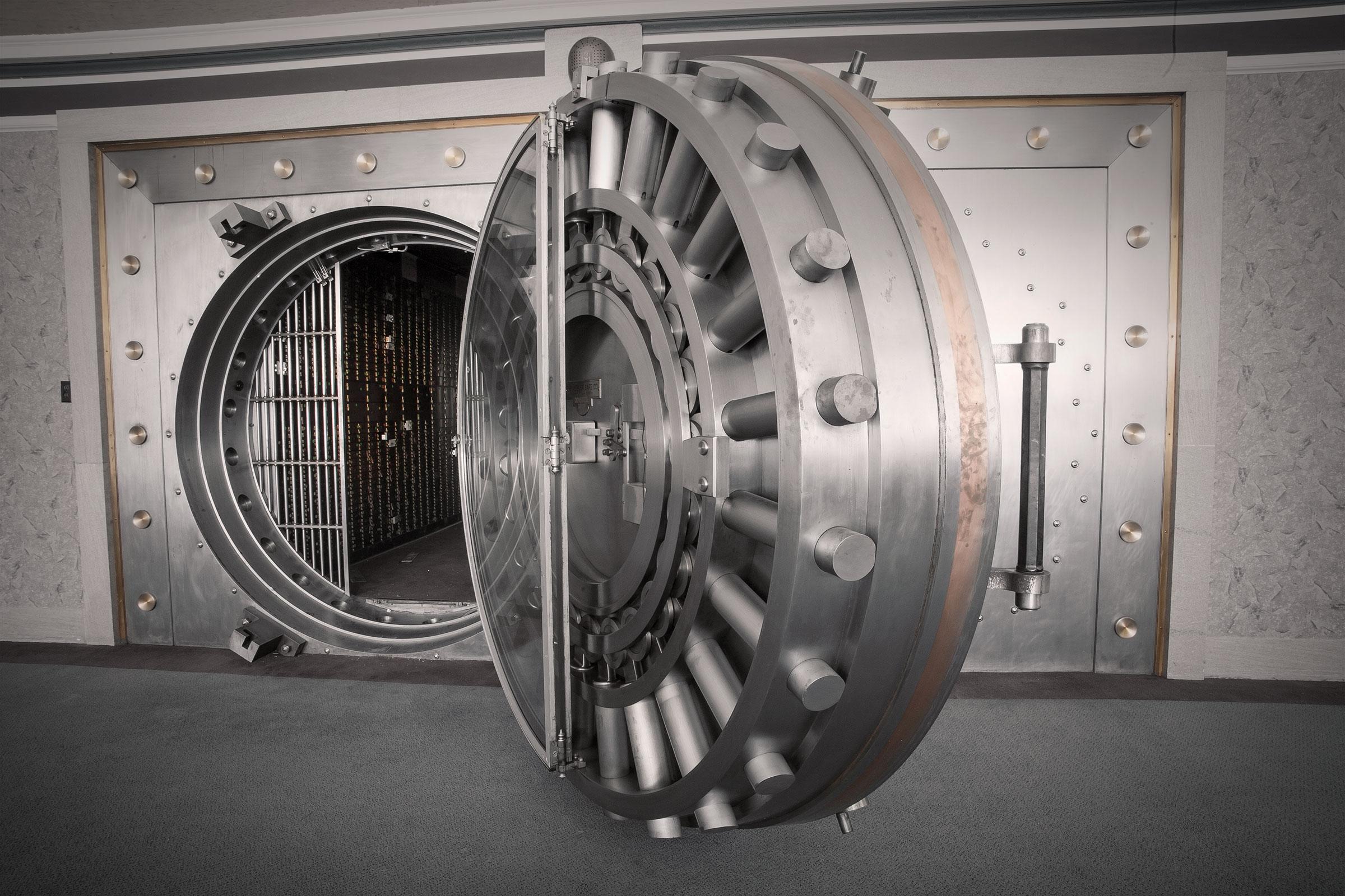 Bank Vault Doors : Antique vault doors for sale exclusively from brown safe