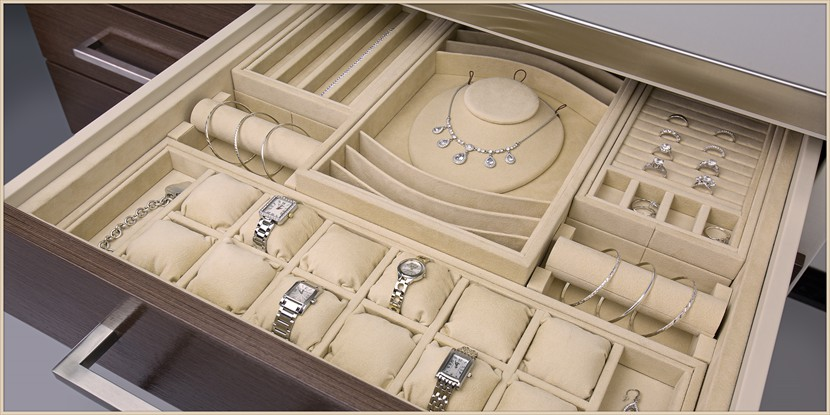 Jewelry Drawer Inserts Brown Safe Mfg