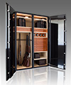 Large Capacity Luxury Safe Line with Hardwood Jewelry Box - Store Jewelry and Much More