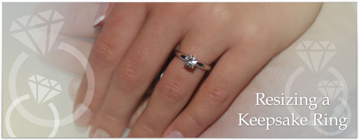 Resizing a Keepsake Ring