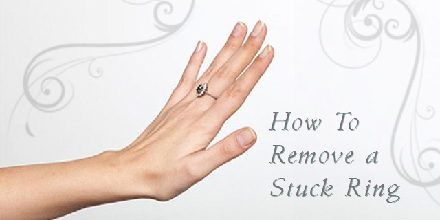How To Remove A Stuck Ring From A Swelling Finger