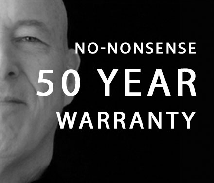 Brown Safe 50 Year Warranty