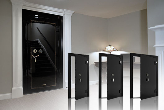 Modern High Security Safes Featuring Custom Interiors And Watch Winder Panels