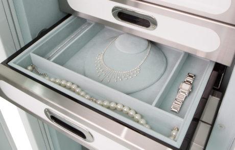 custom built jewelry drawer inserts