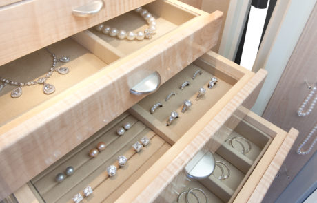 drawer insert for jewelry
