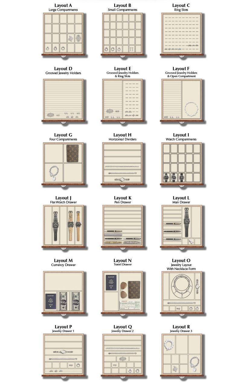 Custom Drawer Inserts Brown Safe Manufacturing Inc