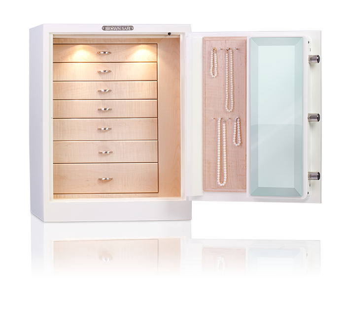 Luxury Jewelry Safes Brown Safe Manufacturing Inc - #Summer