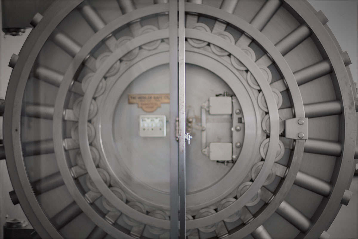 Round Vault Door & Antique Vault Doors for Sale - Exclusively from Brown Safe Mfg.